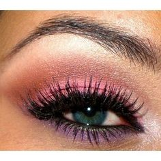 Pink and purple shadow