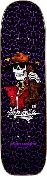 Skateboard deck KEVIN HARRIS purple Powell Peralta - Google 検索