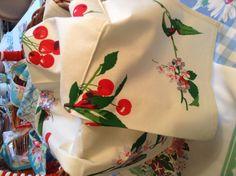 LuRay Spring 2013 - Cherry Kitchen Towels