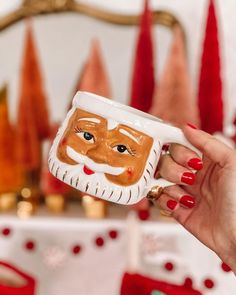 Santa Mugs, Ted, Merry, Christmas Ornaments, Holiday Decor, Cosy Winter, Instagram, Christmas Jewelry, Christmas Decorations