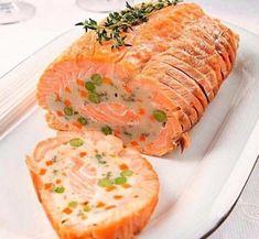 Рулет из лосося | Самые вкусные кулинарные рецепты