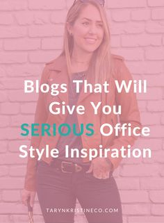 When it comes to your work wardrobe it's aways good to have some office style inspiration. These blogs will act as your virtual stylists and have a style what will appeal to every girl. Office Style | Work Wear | Career Style | Office Outfits | Work Outfits