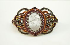 SANAM Clear quartz crystal bracelet