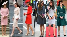 Kate Middleton - dresses with sleeves