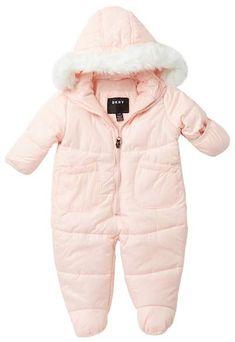 6bb6706d03e11 DKNY Faux Fur Pram (Baby Girls). Manon · Combinaison bébé hiver