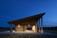 Terry Trueblood Boathouse | ASK Studio | Archinect