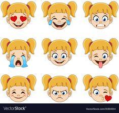 Emoji Set, Smiley Emoji, Eyes Emoji, Cute Emoji, Cartoon Faces, Cartoon Styles, Emoji People, 2d Character Animation, Funny Emoticons