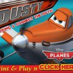 #DisneyPlanes Colroing and Connect the Dot Activity Pages