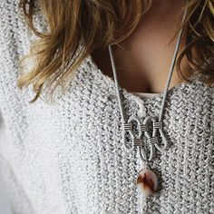 For The Makers // Verde River Necklace