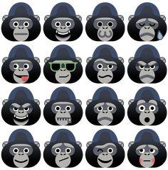 KIK Gorilla - Owen Davey Illustration