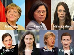 What Do Countries With The Best Coronavirus Responses Have In Common? Women Leaders -- From Iceland to Taiwan and from Germany to New Zealand, women are stepping up to show the world how to manage a messy patch for our human family. Leadership Traits, Leadership Development, Leadership Quotes, Kids Questions, Premier Ministre, Feeling Scared, Political Leaders, Social Media Influencer, Felt Hearts