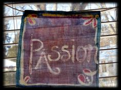 Passion comes in many colors... today it was purple passion...Order your passion...