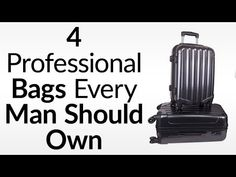 Luggage For The International Business Traveler | 4 Essential Bags For B...