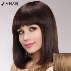 Human Hair Wigs | Cheap Real Human Hair Wigs For Black & White Women Online | DressLily.com