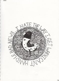 the wonder years: I hate the way I get when I can't handle bad news