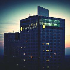 Warszawa. Hotel Inter Continental.