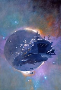 Anyone else collect paperbacks just so they can have covers by John Harris?