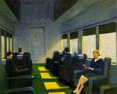 Coche de asientos (1965) Edward Hopper