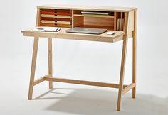 2:1 make up stand & writing desk by László Szikszai