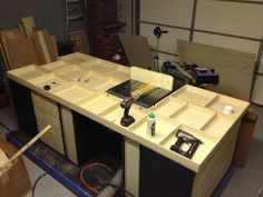 The Ultimate Table Saw Cabinet   By Drew   Rock N H Woodshop @ LumberJocks