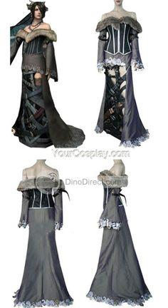 Final Fantasy 7 Lulu Lockheart Cosplay Costume, Final Fantasy Cosplay Costumes, Cosplay Costumes  Lulu had the best wardrobe ever.