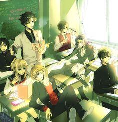 Anime,аниме,Fate (series),Fate (srs),Fate/Zero,Saber (Fate),Berserker (Fate/Zero),Gilgamesh (Fate),Lancer (Fate Zero),Emiya Kiritsugu,Kotomine Kirei,Waver Velvet,Tokiomi Tohsaka,matou kariya