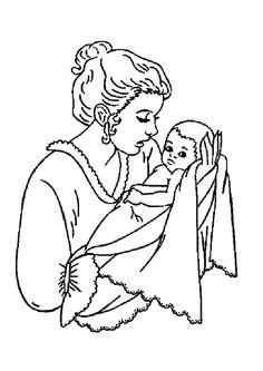16 Meilleures Images Du Tableau Coloriage Maman Papa En 2013