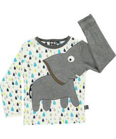 Adorable T-shirt avec éléphant par Ubang Babblechat #emilea