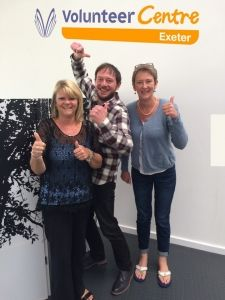 Great to see Exeter Volunteer Centre celebrating their VCQA accreditation! Exeter, Devon, Centre, Congratulations, Learning, Celebrities, Celebs, Teaching, Education