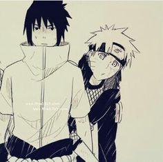 Naruto & sasuke <3