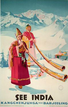 1950 Kangchenjunga by Sobha Singh