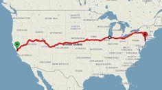 Met de trein van San Francisco naar New York en ondertussen allerlei Amerikaanse hoogtepunten passeren. Da's lekker én het kan ook nog eens voor tweehonderd euro.