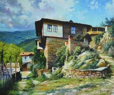 ''Spring in Rhodope'' oil on canvas/60x50cm/2015