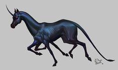 ArtStation - black unicorn, Tate S.