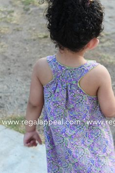 DIY - Toddler - Racerback Dress