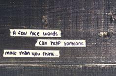 nice words by ErinBird.deviantart.com on @deviantART