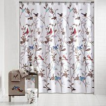 Mainstay Birds Shower Curtain Walmart Better Homes And Gardens Farley