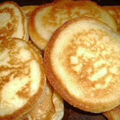 These hoe cakes was a family favorite growing up and still is today. Just plain comfort food. Try drizzling honey on top when they're done. Hoe Cakes, Fried Cornbread, Buttermilk Cornbread, Cornbread Cake, Cornbread Recipes, Jiffy Cornbread, Pancake Recipes, Breakfast Recipes, Kitchen Recipes