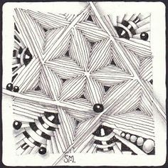 This week`s challenge is a double challenge.  The task is to create a tile with an aura tangle ant to daw it with our non dominant hand .   ...