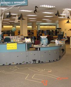Public Library decorations halloween - Google Search