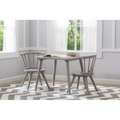 Found it at AllModern - Windsor 3 Piece Table and Chair Set