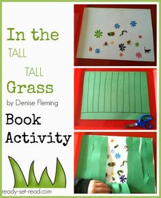 In the Tall Tall Grass by Denise Fleming Spring Book Activities