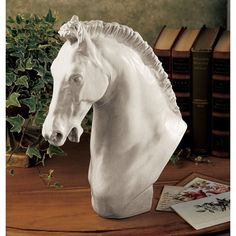 Home Design Drawing Design Toscano Horse of Turino Bust Sculpture 12 Inches Horse Sculpture, Wall Sculptures, Turin, Wood Dog, Thing 1, Country Art, Country Interior, Country Chic, Wine Country
