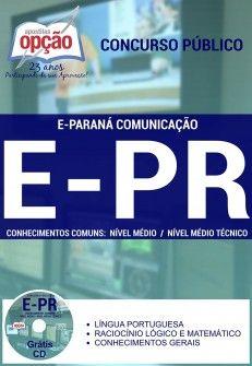 Promoção -  Apostila E-Paraná Comunicação - Diversos Cargos  #Aprovado Saiba como adquirir a sua http://apostilasdacris.com.br/apostila-e-parana-comunicacao-diversos-cargos/