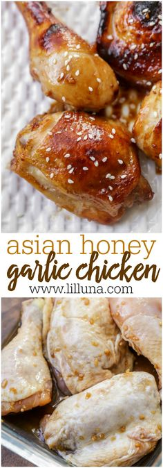 Asian Honey Garlic C