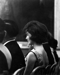 Jacqueline Kennedy in Audience at White House Reception, March 13, 1961.