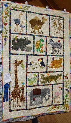 d49f388591 215 Best ABC & Children's quilts images in 2019   Animal alphabet ...