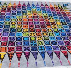 Dear Jane quilt by Jane Hardy Miller. Quilted by Valerie Smith at Pumpkin Patch Quilter.