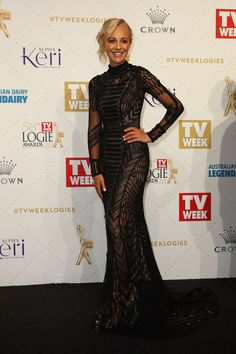 Carrie Bickmore | Here's What Everyone Wore To The 2016 Logies