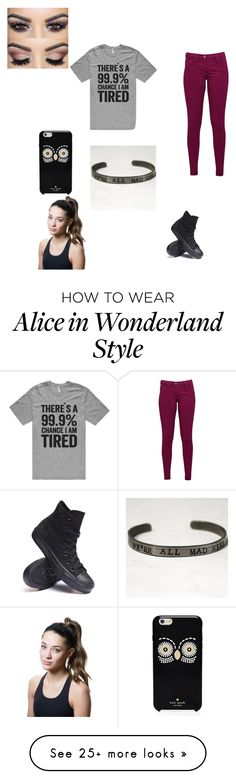 """Untitled #359"" by awesomeninga on Polyvore featuring mode, Great Plains, Converse, Kate Spade et Titika"